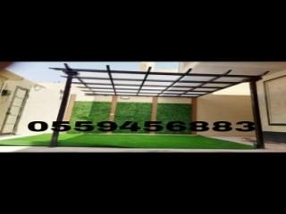 مظلات وسواتر تركيب افضل انواع المظلات في الرياض 0553770074 شركة سواتر رخيصة نعرض بالصور انواع واشكال مظلات الاختيار الاول - محترفون بالاعمال البرجولات